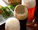 【カフェ&バー・プラザ】ホテルのアトリウムでビアガーデン洋食盛込みコース付き飲み放題 120分5000