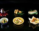 【WEB予約限定優待】松茸やハモ、茄子から選べる逸品付き!秋の特別会席「美味三彩」