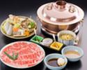 Shabu-shabu Beef Zanmai Course (High quality beef)