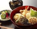 魚介と野菜の盛り合せ丼