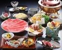 しゃぶしゃぶ 牛肉三昧コース(特上)15,950円