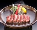網焼ステーキ(特上ロース 120g)10,450円