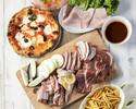 【BBQ デラックスプラン】TボーンステーキBBQプラン!自慢のPIZZAと充実のサイドメニュー。 肉好きのためのデラックスBBQ!