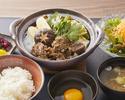 Miyazaki Kuroge Wagyu Beef Tendons Sukiyaki