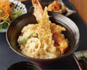 Prawn & Conger Eel Tempura Rice Bowl