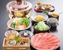しゃぶしゃぶ定食(120g)