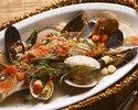 【1ドリンク付】オマール海老のブイヤベースと旬の三浦野菜、自家製シャルキトリー 冬のコース