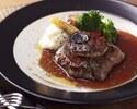 【1ドリンク付】牛フィレとフォアグラのメインと旬の三浦野菜、自家製シャルキトリー のコース