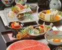 すき焼 蒼コース(特上牛)¥11000