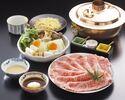 お昼のしゃぶしゃぶ定食 (特上)¥6930