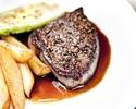 weekdays only starter + 2main course + dessert + coffee 9100yen→8190yen