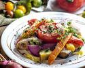 ②【3時間飲み放題付】豪華お肉料理Wメインとオマールエビ風味濃厚チーズトマトフォンデュコース全7品