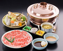 SHABU SHABU - UTAGE course (with Top Quality Beef)