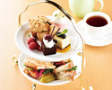 【コーヒー紅茶お替り自由&茶葉交換可】スイーツとサンドウィッチのアフタヌーンティー