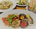 [Web reservation only] 「Assorted appetizers, fried oyster, pasta, etc.」 Reasonable and easy to enjoy 2,500COURSE <6 items>