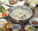 【昼の部】博多水炊きコース (前菜からデザートまでのコースです)