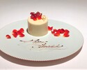 【Web Reservation Only】Champagne+Original cake included Dinner Plan