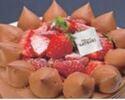 4号(12cm)チョコレートショートケーキ ¥3,000(税抜)