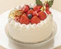 【クリスマスケーキ】あまおうショートケーキ(15cm)