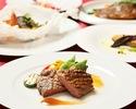 【SPECIAL LUNCH】島根県産の食材を中心にメインには幻の隠岐牛のローストなど全5皿 贅沢ランチフルコース