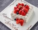 【お誕生日に】乾杯スパークリング&ホールケーキ付!季節野菜の前菜・パスタ・選べるメイン含む全4品(平日)