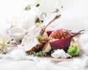 【Xmas2019】飲み放題&乾杯シャンパン付き!豚ロース&オマールエビのメイン×ハーフブッフェ