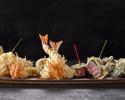 【18,000円】日本料理「さくら」天ぷらカウンター 絶景が眺められる特等席で味わう フェスティブディナーコース