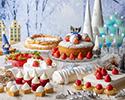 【12/24・25特別プラン】苺とクリスマスのデザートビュッフェ ~ホワイトクリスマス ピーチャの大冒険~