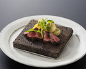 Yamagata Beef Steak & Live Hairy Crab  Course B 《Tender loin》(Crab saize is large)