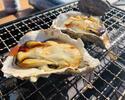 殻付き牡蠣(5ヶ)