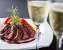 《ディナー》【Xmas2019】シャンパン乾杯酒付!和牛サーロインや金目鯛のポワレなど聖夜を彩るイタリアンディナー全6品!