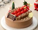 いちごのクリスマスチョコクリーム18cm¥4,000