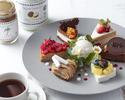 【数量限定】コーヒー・紅茶がお替り自由!贅沢なスイーツセット