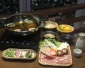 [Kakomu de Kotatsu] From November 9th to the observation deck, I feel warm and warm! Samurai Shabu Course with 3 mochi pork