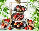 (1/15-6/30)【Online Booking Exclusive】Afternoon tea set -Strawberry-(Weekdays)