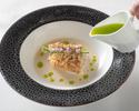 Lunch  ¥5,000 Menu Saison (ムニュ セゾン)