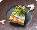 Dinner  ¥7,150 Menu Couleur (ムニュ クルール)