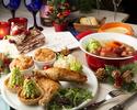 【12月のご予約はこちら!新宿駅近でクリスマスランチ女子会】とろ~りチーズ鍋とローストチキン&限定デザート×スパークリングワインも選べる乾杯ドリンク付き♪4,500円⇒4,000円(税別)