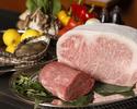 魚介とお肉を楽しめる鉄板焼ランチ 特選黒毛和牛フィレ80g サーロイン100g