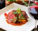 【12月8日まで限定】20%OFF 充実の前菜と肉魚も愉しめるgrigio特選Wメインコース 2.5時間飲み放題