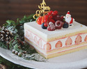 【Lily cakes】Christmas Short Cake S (12x12)