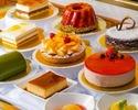 【レクラ×旬の味覚】季節食材たっぷりの前菜にお魚&お肉、デザートもついたスタンダードな全6品