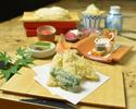 のどぐろ天ぷら昼御膳