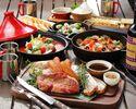 【12月1日スタート】WINTER BBQコース【2.5時間制】ソフトドリンク飲み放題付き