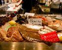 【イタリアン牡蠣と魚介鍋コース!】前菜5品+パスタ、牡蠣魚介鍋の全7品。2時間直輸入クラフトビール5種飲放題とスパークリングワイン、カクテル全60種
