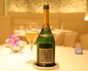 12/4~1/5【WEB限定プラン】グラスシャンパン付、ミシュラン獲得特別記念ディナー