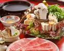 Sukiyaki Hana course (Finest)