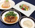 【旬の味を楽しむ】冬の会食Bコース フカヒレのスープ茶碗蒸し仕立て/牛バラ肉の醤油煮込み/担々麺 全7品