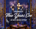 New year's eve dinner (100% booking deposit)