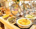 【冬季限定】選べる1ドリンク付!約40種類の季節のお料理をブッフェ形式で堪能!